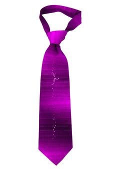 Free Purple Striped Necktie Royalty Free Stock Images - 28138909