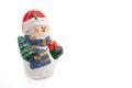 Free Smiling Snowman Figurine Royalty Free Stock Photo - 28145975