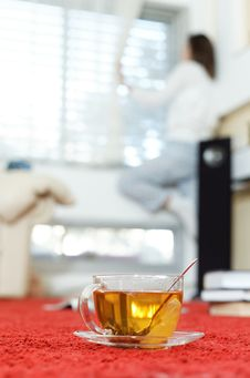 Free Hot Aromatic Tea Is Always Nice Stock Photography - 28142772