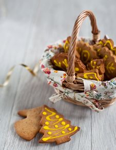 Free Gingerbread Cookies Stock Images - 28143224