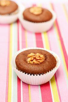 Free Chocolate Cupcakes Stock Photos - 28143333