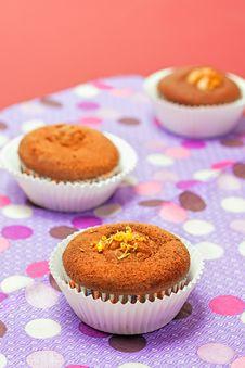 Free Chocolate Cupcakes Stock Image - 28143341