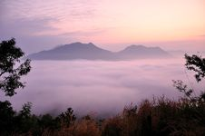 Free Fog Sea Stock Image - 28143361