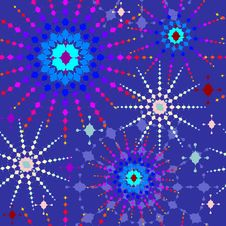 Free Colorful Stars Seamless Pattern Stock Photos - 28144683