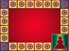 Free Christmas Background Golden Icons Stock Images - 28149594