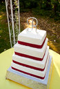 Free Outdoor Wedding Cake Stock Photos - 28152903