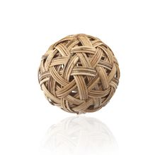 Free Rattan Ball The Southeast Asia Sports Royalty Free Stock Images - 28150379