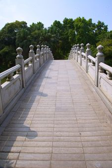 Free Bridge Leading To Forest Royalty Free Stock Photos - 28150538