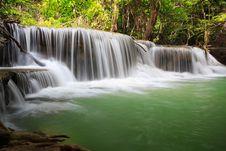 Free Thailand Waterfall In Kanjanaburi Stock Image - 28152451