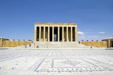 Free Mausoleum Of Ataturk Royalty Free Stock Photography - 28159497
