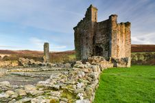 Free Edlingham Castle Royalty Free Stock Photo - 28159805