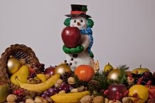 Free Snowman Royalty Free Stock Photo - 28162225