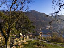 Free Park View From Above The Mountain Royalty Free Stock Photography - 28166677