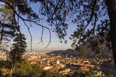 Free Brasov View From Above The Mountain Royalty Free Stock Photography - 28166717