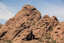 Red Rocks Of Papago Royalty Free Stock Image