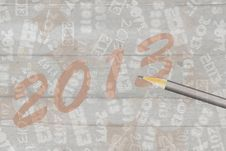 Free New Year 2013 Royalty Free Stock Images - 28169499