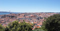 Free View Of Lisbon And River Tagus Royalty Free Stock Image - 28177316