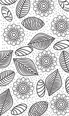 Free Floral Pattern Royalty Free Stock Images - 28170189