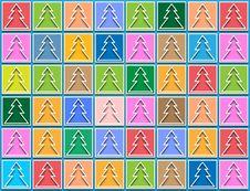 Free Background Pastel Tree Royalty Free Stock Photography - 28170217