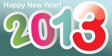 Free New Year 2013 Background Royalty Free Stock Images - 28172519