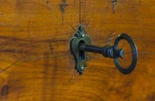 Free Old-Style Furniture Key Royalty Free Stock Images - 28173349