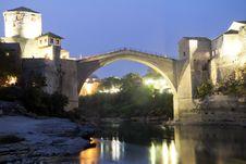 Mostar Bridge Stock Images