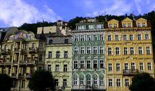 Free Buildings In Karlovy Vary Royalty Free Stock Photo - 28175425