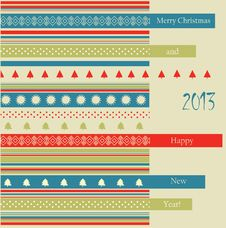 Free Christmas Postcard Stock Images - 28178844