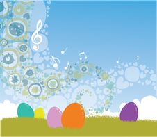 Free Easter Background Royalty Free Stock Photography - 28179837