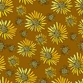 Free Decoration Element. Floral Style. Seamless. Stock Photography - 28180262