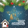Free Christmas Card Royalty Free Stock Images - 28181689