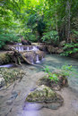 Free Deep Forest Waterfall &x28;Erawan Waterfall&x29; Stock Photo - 28181790
