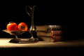 Free Fruits And Books Stock Images - 28185434