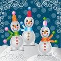 Free Merry Christmas Snowman Stock Photos - 28185673