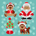 Free Santa With Teddy Royalty Free Stock Photos - 28188198
