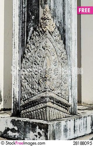 Free Thai Culture Textue Royalty Free Stock Photo - 28188095