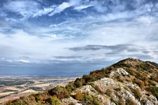 Free Mountain Ridge Against The Sky Stock Photos - 28180613