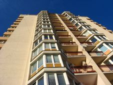 The Multi-storey Modern House Royalty Free Stock Photo