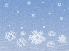 Free Snow With Snowflakes Stock Photography - 28183262