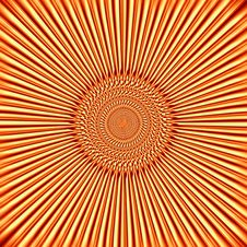 Free Orange-yellow Background In The Form Of The Sun Stock Photo - 28184100