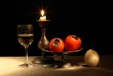 Free Fruits And Wine Stock Images - 28185444