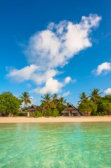 Free Tropical Island Beautiful Landscape Royalty Free Stock Photo - 28187225