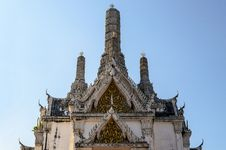 Free White Pagoda In Phra Nakhon Khiri Stock Photography - 28187722
