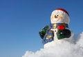 Free Snowman Figurine Royalty Free Stock Photos - 28190638