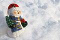 Free Snowman Figurine Stock Photo - 28190710