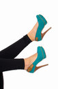 Free Heels In The Air Royalty Free Stock Photos - 28193458