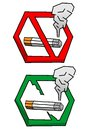 Free No Smoke Sign Stock Images - 28194814