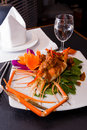 Free Thai Food Prawns Stir Fried With Spicy Sauce Royalty Free Stock Photography - 28195667
