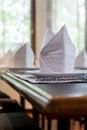 Free White Napkins Folded Royalty Free Stock Image - 28195796