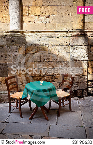 Free Ready For Romantic Diner Stock Photo - 28190630